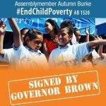 AB 1520 Passes – Addressing Children in Poverty